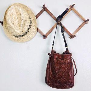 J. Crew Leather Mini Bucket Bag